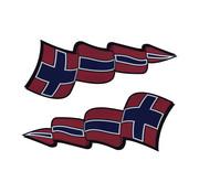 Pennant sticker set Norway
