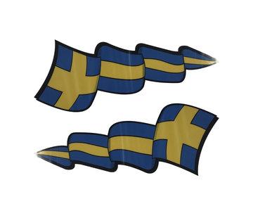 Pennant sticker set Sweden