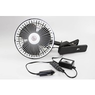 Car fan 24V clip on 18cm