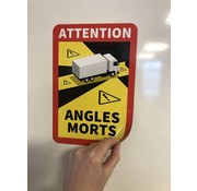 Magneetsticker Angles Morts