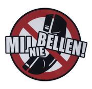 Sticker Mij Nie Bellen!