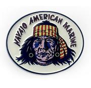 Pin Navajo American Marine