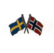 Pin flag Sweden-Norway