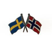 Pin vlag Zweden-Noorwegen