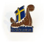 Pin Viking boat Sweden