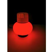 All Ride Ledverlichting met USB voor luchtverfrisser 12/24V - Rood