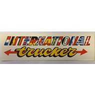 Sticker International Trucker