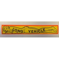 Sticker Long vehicle