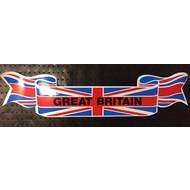 Wimpel sticker Great Brittain