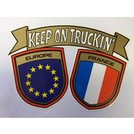Aufkleber Europa - France