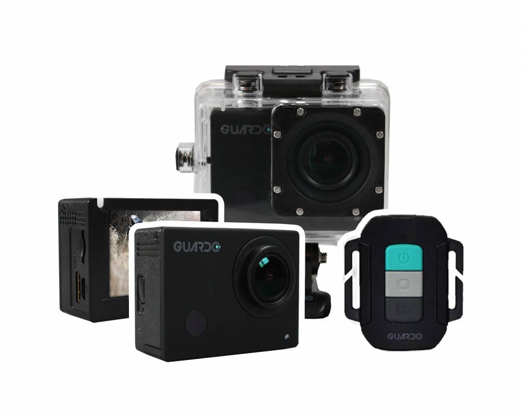 Guardo Action Cam 4 - 4K Action Camera - Joostshop