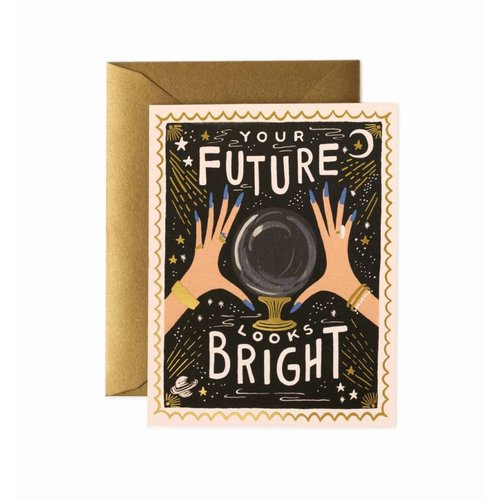 Rifle Paper Co. Wenskaart Bright Future