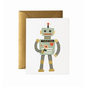 Rifle Paper Co. Wenskaart Robot Love