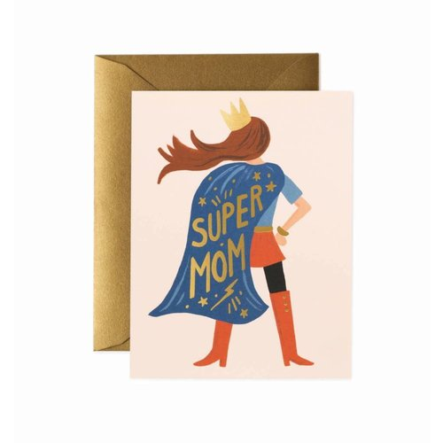 Rifle Paper Co. Wenskaart Super Mom