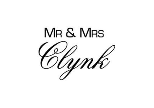 Mr & Mrs Clynk