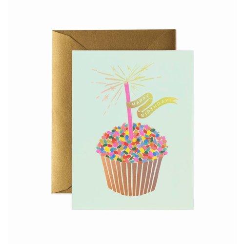 Rifle Paper Co. Verjaardagskaart Cupcake