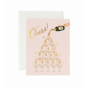 Rifle Paper Co. Wenskaart Champagne Tower