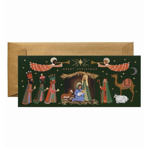 Rifle Paper Co. Kerstkaarten Nativity