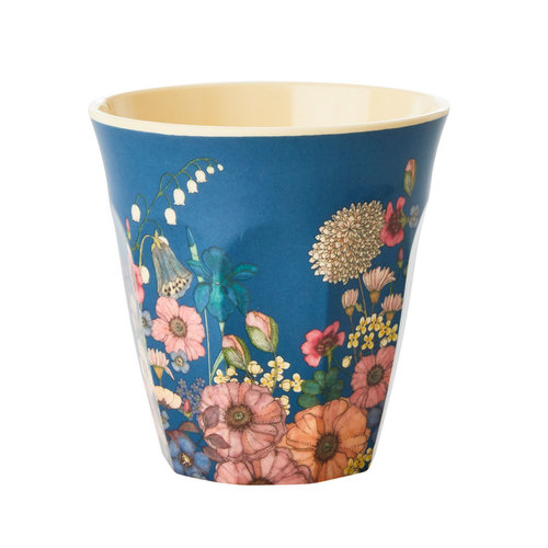 Rice Melamine beker Flower Collage