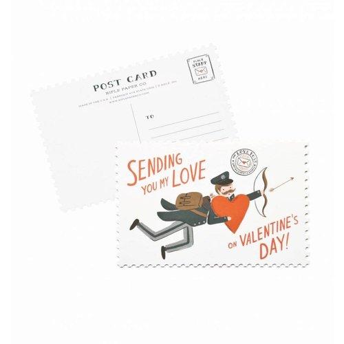 Rifle Paper Co. Valentijnskaartje Postbode