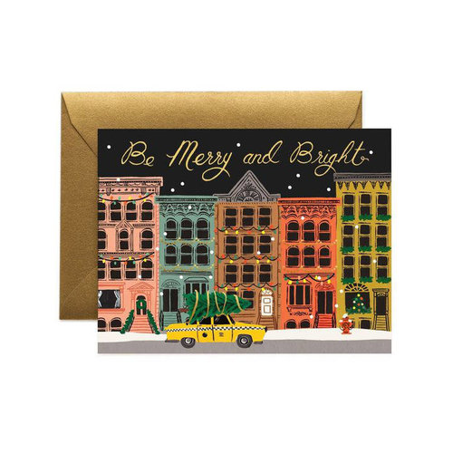Rifle Paper Co. Kerstkaart  City Holiday
