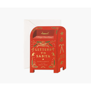 Rifle Paper Co. Kerstkaart  Letters to Santa