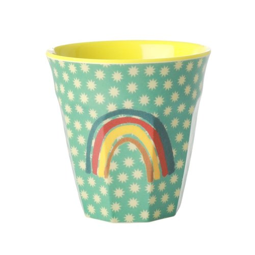 Rice Melamine beker Rainbow and Stars