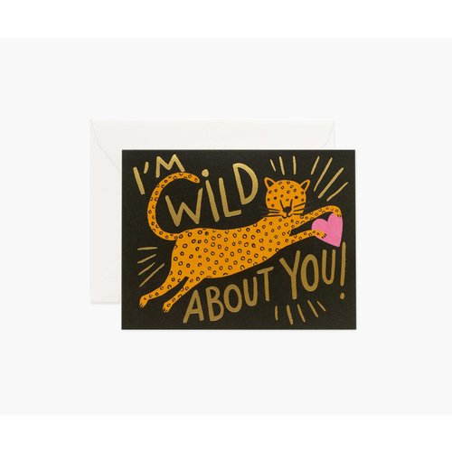 Rifle Paper Co. Wenskaart Wild About You