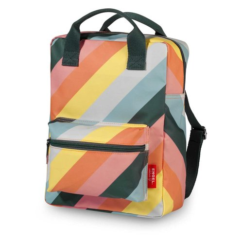 ENGELpunt Rugzak Stripe Rainbow - Medium