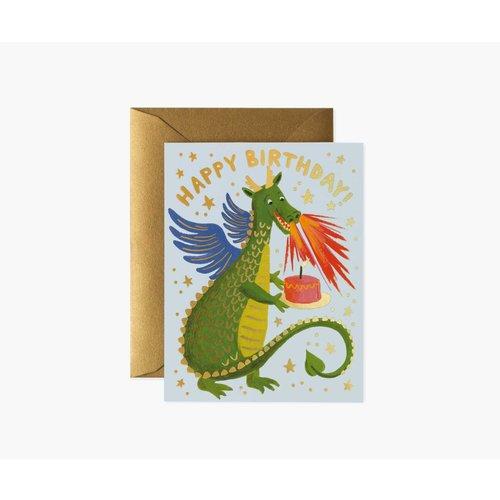 Rifle Paper Co. Verjaardagskaart Dragon