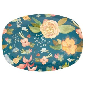 Rice Melamine bord Selma's Fall Flower