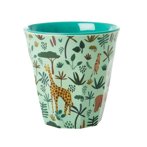 Rice Melamine beker Jungle Green