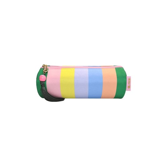 Rice Ronde etui Let's Summer Stripe
