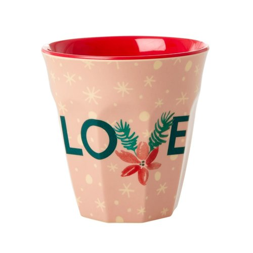 Rice Melamine beker Love