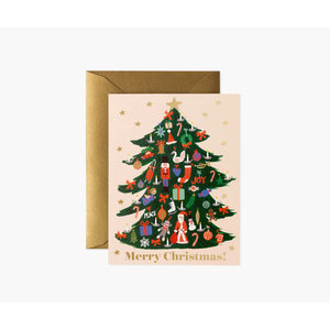 Rifle Paper Co. Kerstkaart  Trimmed Tree