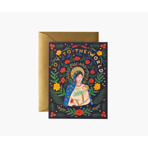Rifle Paper Co. Kerstkaart  Madonna & Child