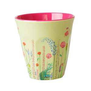 Rice Melamine beker Summer Flowers