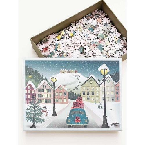 ViSSEVASSE Puzzel Let it Snow 1000