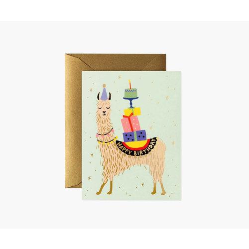Rifle Paper Co. Verjaardagskaart Lama