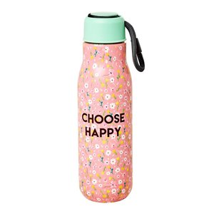 Rice Thermosfles Pink Choose Happy
