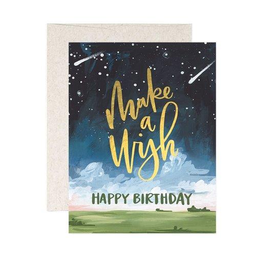 1Canoe2 Wenskaart Make a Wish
