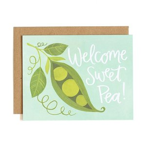 1Canoe2 Wenskaart Sweet Pea