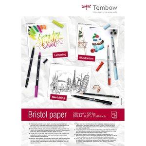 Tombow Papierblok Bristol - A4