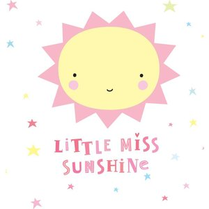 A Little Lovely Company Muurstickers Miss Sunshine