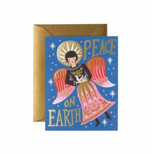 Rifle Paper Co. Kerstkaart Peace on Earth