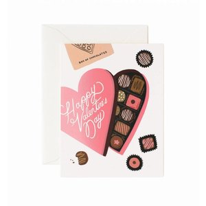 Rifle Paper Co. Valentijnskaart Box of Chocolates