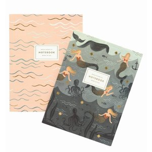 Rifle Paper Co. Set van 2 Notitieboeken Mermaid
