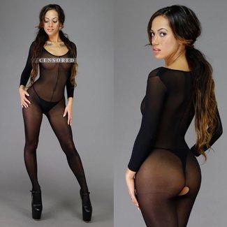 Sexy Basic Bodystocking Zwart