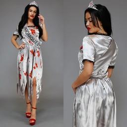 NEW1601 Horror Prom Queen Kostuum
