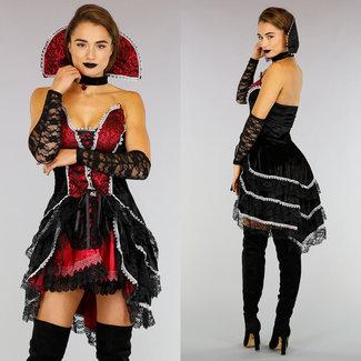 Luxe 3-Delig Vampier Kostuum